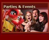 Parties and Events at the Szechuan Chinese Restaurant Thatcham